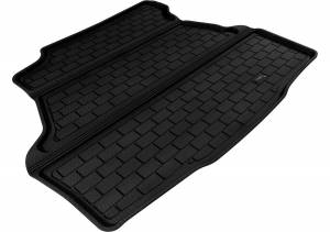 Cargo Liners/Mats - Cargo Liner (floor liner with side lips) - 3D MAXpider - 3D MAXpider L1AD04201509 BUICK LUCERNE 2006-2011 KAGU BLACK STOWABLE CARGO LINER