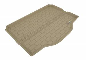 Cargo Liners/Mats - Cargo Liner (floor liner with side lips) - 3D MAXpider - 3D MAXpider L1AD04621509 BUICK ENCORE 2013-2020/ CHEVROLET TRAX 2014-2020 KAGU TAN STOWABLE CARGO LINER
