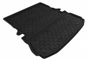 Floor Mats / Liners - Cargo Liners/Mats - 3D MAXpider - 3D MAXpider FORD EXPLORER 2011-2019 KAGU GRAY BEHIND 2ND ROW STOWABLE CARGO LINER