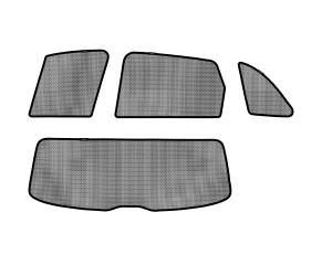 Interior Accessories - Sun Shades - 3D MAXpider - 3D MAXpider AUDI Q5 2009-2017 SOLTECT SUNSHADE SIDE & REAR WINDOW