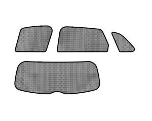 Interior Accessories - Sun Shades - 3D MAXpider - 3D MAXpider AUDI A3 SPORTBACK E-TRON 2015-2019 SOLTECT SUNSHADE SIDE & REAR WINDOW