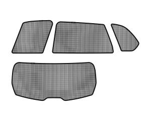 Interior Accessories - Sun Shades - 3D MAXpider - 3D MAXpider BMW X5 (E70) 2007-2013 SOLTECT SUNSHADE SIDE & REAR WINDOW