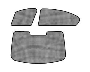 Interior Accessories - Sun Shades - 3D MAXpider - 3D MAXpider BMW 5 SERIES (F10) 2011-2016 SOLTECT SUNSHADE SIDE & REAR WINDOW