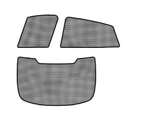 Interior Accessories - Sun Shades - 3D MAXpider - 3D MAXpider BMW X6 (E71) 2008-2014 SOLTECT SUNSHADE SIDE & REAR WINDOW