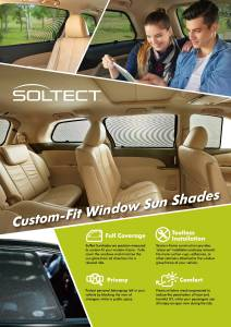 3D MAXpider - 3D MAXpider FORD FOCUS HATCHBACK/SEDAN 2011-2017 SOLTECT SUNSHADE SIDE WINDOWS ONLY - Image 4
