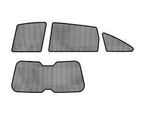 Interior Accessories - Sun Shades - 3D MAXpider - 3D MAXpider HONDA CR-V 2007-2011 SOLTECT SUNSHADE SIDE & REAR WINDOW