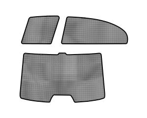 Interior Accessories - Sun Shades - 3D MAXpider - 3D MAXpider HONDA CIVIC SEDAN 2006-2011 SOLTECT SUNSHADE SIDE & REAR WINDOW