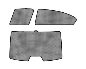 Interior Accessories - Sun Shades - 3D MAXpider - 3D MAXpider HONDA CIVIC SEDAN 2012-2015 SOLTECT SUNSHADE SIDE & REAR WINDOW