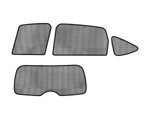 Interior Accessories - Sun Shades - 3D MAXpider - 3D MAXpider HONDA CR-V 2012-2016 SOLTECT SUNSHADE SIDE & REAR WINDOW