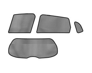 Interior Accessories - Sun Shades - 3D MAXpider - 3D MAXpider HONDA FIT 2015-2019 SOLTECT SUNSHADE SIDE & REAR WINDOW