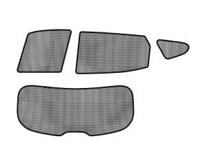 Interior Accessories - Sun Shades - 3D MAXpider - 3D MAXpider HYUNDAI SANTA FE 2013-2018 SOLTECT SUNSHADE SIDE & REAR WINDOW