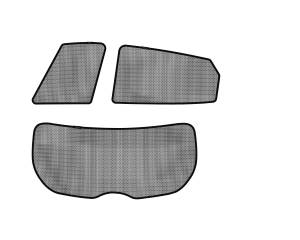 Interior Accessories - Sun Shades - 3D MAXpider - 3D MAXpider HYUNDAI TUCSON 2010-2015 SOLTECT SUNSHADE SIDE & REAR WINDOW