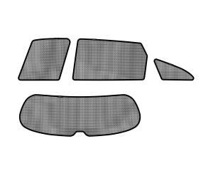 Interior Accessories - Sun Shades - 3D MAXpider - 3D MAXpider KIA SORENTO 2011-2013 SOLTECT SUNSHADE SIDE & REAR WINDOW