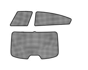 Interior Accessories - Sun Shades - 3D MAXpider - 3D MAXpider KIA FORTE SEDAN 2014-2018 SOLTECT SUNSHADE SIDE & REAR WINDOW