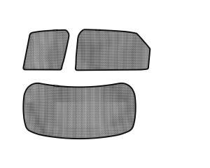Interior Accessories - Sun Shades - 3D MAXpider - 3D MAXpider L1LX04402202 LEXUS RX/ RX HYBRID 2016-2019 SOLTECT SUNSHADE SIDE & REAR WINDOW