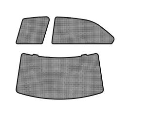 Interior Accessories - Sun Shades - 3D MAXpider - 3D MAXpider L1MB00601502 MERCEDES-BENZ C-CLASS (W204) SEDAN 2008-2014 SOLTECT SUNSHADE SIDE & REAR WINDOW