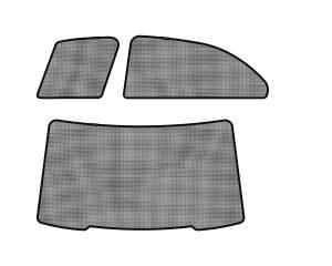Interior Accessories - Sun Shades - 3D MAXpider - 3D MAXpider L1MB05122202 MERCEDES-BENZ E-CLASS (W212) 2010-2016 SOLTECT SUNSHADE SIDE & REAR WINDOW
