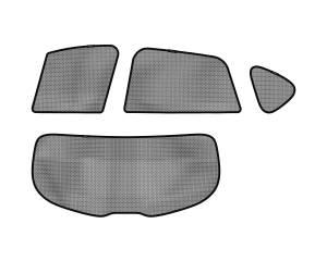 Interior Accessories - Sun Shades - 3D MAXpider - 3D MAXpider L1MZ01622202 MAZDA CX-5 2013-2016 SOLTECT SUNSHADE SIDE & REAR WINDOW