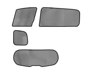 Interior Accessories - Sun Shades - 3D MAXpider - 3D MAXpider L1MZ01722209 MAZDA MAZDA5 2012-2015 SOLTECT SUNSHADE SIDE & REAR WINDOW