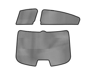 Interior Accessories - Sun Shades - 3D MAXpider - 3D MAXpider L1MZ03801502 MAZDA MAZDA6 SEDAN 2014-2018 SOLTECT SUNSHADE SIDE & REAR WINDOW