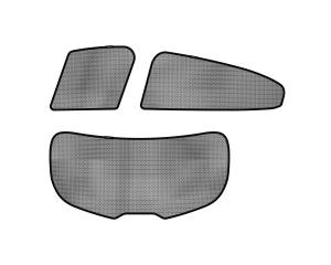 Interior Accessories - Sun Shades - 3D MAXpider - 3D MAXpider L1MZ03822209 MAZDA MAZDA3 HATCHBACK 2014-2018 SOLTECT SUNSHADE SIDE & REAR WINDOW