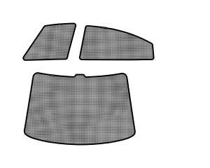 Interior Accessories - Sun Shades - 3D MAXpider - 3D MAXpider L1MZ04001502 MAZDA MAZDA6 SEDAN 2009-2013 SOLTECT SUNSHADE SIDE & REAR WINDOW