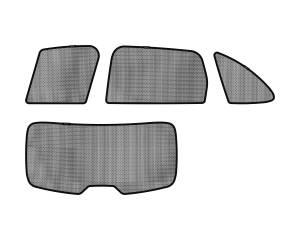 Interior Accessories - Sun Shades - 3D MAXpider - 3D MAXpider L1PA00121509 PORSCHE CAYENNE 2011-2018 SOLTECT SUNSHADE SIDE & REAR WINDOW