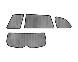 Interior Accessories - Sun Shades - 3D MAXpider - 3D MAXpider L1SA00012202 SUBARU LEGACY OUTBACK 2010-2014 SOLTECT SUNSHADE SIDE & REAR WINDOW