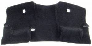 Dash Covers - Velour Dash Covers - DashCare - Acura TL 1999-2003 - DashCare Rear Deck Cover