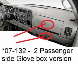 DashCare - 2014 GMC Sierra 2500 3500 Pickup -  DashCare Dash Cover - Image 6