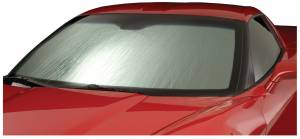 Sun Shades - Windshield Shades - Rolling - Intro-Tech Automotive - Intro-Tech Alfa Romeo 4C (14-19) Rolling Sun Shade AL-03