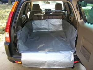 Cargo Liners/Mats - Cargo Apron - Tarp for floor and sides of cargo - Cargo Apron - CarGo Apron - Silver Tarp Trunk Cargo Protection Liner - Protect Bumper HatchBack